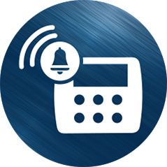 True Steel Security Alarm Icon