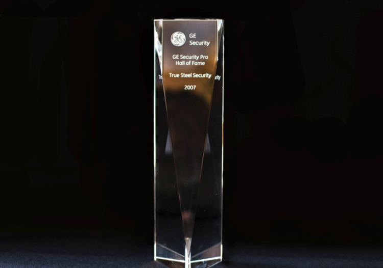 GE Security Pro Hall of Fame Award