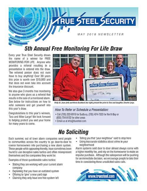 True Steel Security Newsletter